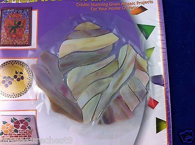 Jennifer Mosaics Conch Shell Pattern Precut Stained Glass Kit