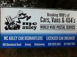 Mc AULEY CAR DISMANTLERS