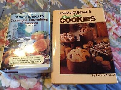 Farm Journal's Cooking & Entertaining in America & Best Ever Cookies