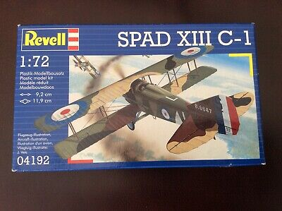 REVELL Model Airplane Kit 4192 SPAD XIII C-1 ~ Scale 1/72