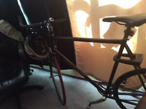KHS Flight 100 fixed gear road bike