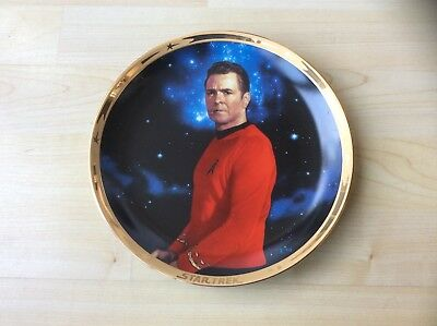The Hamilton Collection Star Trek 25th Anniversary Commemorative Plate - SCOTTY