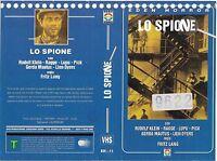 Lo Spione (1928) Vhs Ex Noleggio -  - ebay.it