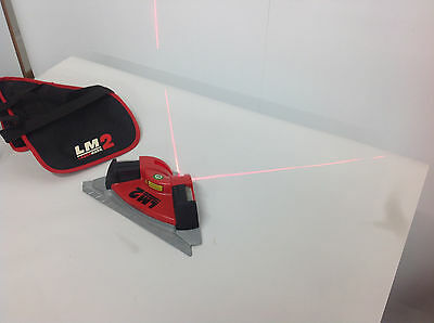 Cstberger Lasermark Lm2 Laser Level Square Wcase Layout Tool. Used