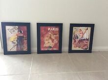 Vintage Paris French Girl Framed Art Prints Maitland Maitland Area Preview