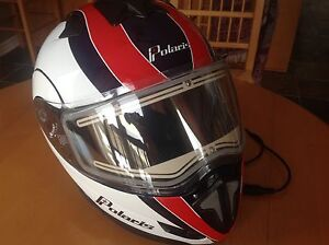 Modular Snowmobile Helmet with Electric Shield