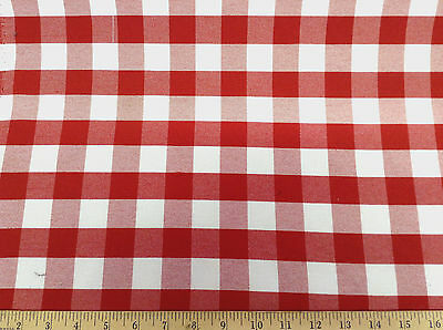 Discount-62-inch-wide-Twill-Tablecloth-Fabric-Red-and-White-Check-DR18