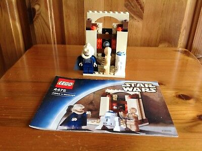 LEGO STAR WARS 4475 Jabba's Message Set