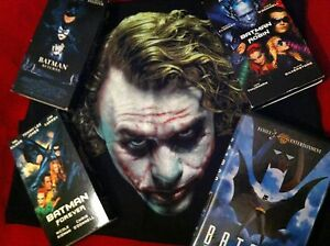BATMAN SET W/HEATH LEDGER JOKER SHIRT