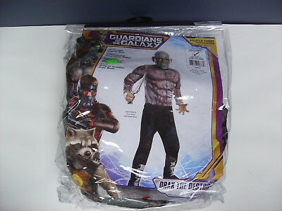 GUARDIANS OF THE GALAXY DRAX THE DESTROYER CHILD HALLOWEEN COSTUME SMALL - Drax The Destroyer Halloween