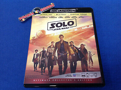 SOLO: a Star Wars Story USED 4K Ultra HD Blu-Ray 2020 Piranha Records