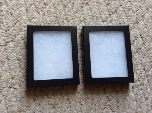 """Package (of 2) 5-1/4 x 6-1/4 x 3/4"""" Display Cases (Made in USA) FREE Shipping."""