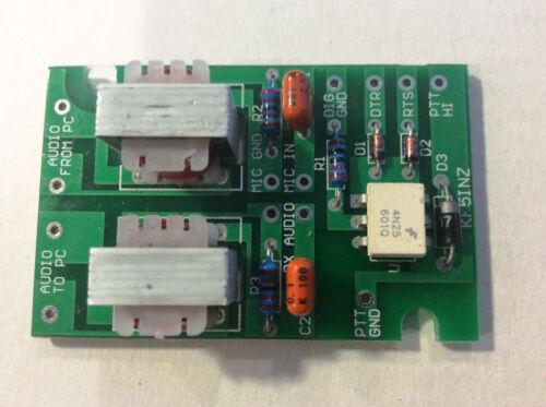 """EASY DIGI™""  Interface Card, FT-8 PSK RTTY SSTV NBEMS JT-65 FT-8 FT-4 others"