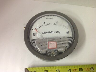 Dwyer Magnehelic 0-1.5 Kpa Differential Max Pressure 100 Kilopascals Gage Guage