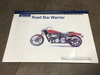Yamaha Road Star Warrior 2002 features & benefits booklet