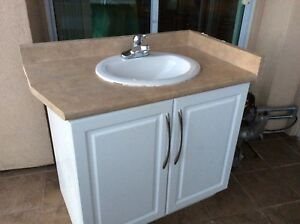 bathroom vanity and faucet - Bathroom Cabinets Kelowna