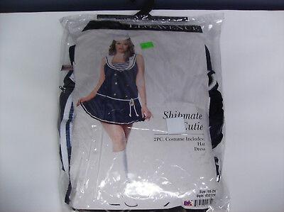 LEG AVENUE SHIPMATE CUTIE WOMEN HALLOWEEN COSTUME 1X/2X](1 Halloween Costume)