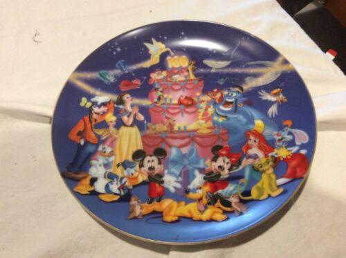 Walt Disney 100 Year Decorative Plate