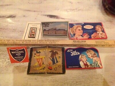 Vintage Advertising Sewing Needle Packs great color graphics Collectible decor