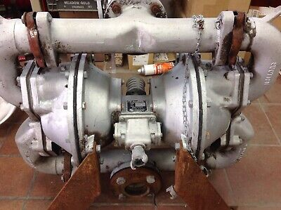 2 Used Sandpiper Sa3-a Air Powered Double Diaphragm Pump Type D8-5-s2 Available