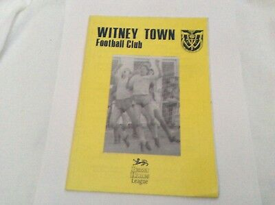 Witney Town V Hounslow  Beazer Homes League  March 1989
