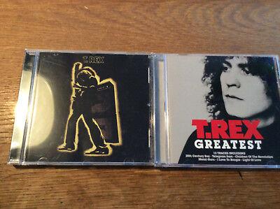 Gebraucht, T.Rex [2 CD Alben] Electric Warrior + Greatest Hits / Marc Bolan gebraucht kaufen  Deutschland