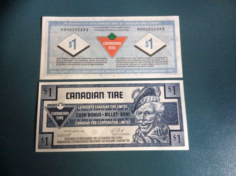 #6: CTC S28-Fa06  RARE 2006 $1.00 replacement note 999 UNC