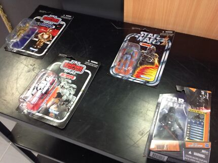 4x STAR WARS COLLECTABLE FIGURINES -JOONDALUP Joondalup Joondalup Area Preview