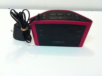 HMDX Audio HX-B040 USB Digital Alarm Clock