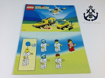Lego Vintage Instructions Trauma Team For Set 1896-1 Classic Town Hospital