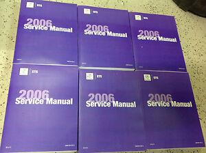 2006 GM CADILLAC STS & STS-V Service Repair Shop Workshop Manual Set FACTORY NEW
