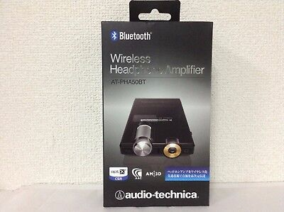 Audio-technica AT-PHA50BT BK Black Wireless Headphone Amplifier from JAPAN NEW
