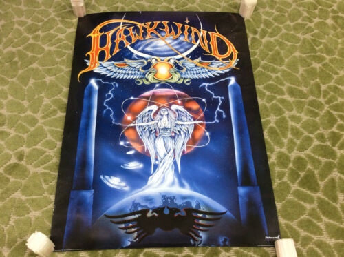 "Vintage 2000 Hawkwind music Band POSTER 24""x34"""