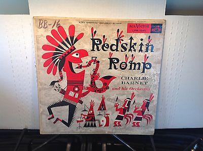 CHARLIE BARNETT -Redskin Romp ~ RCA 1091 {dg orig} [RARE TOM FLORA COVER] ->RARE