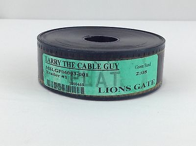 Larry The Cable Guy  Film Trailer  35Mm  Lions Gate   Green Band