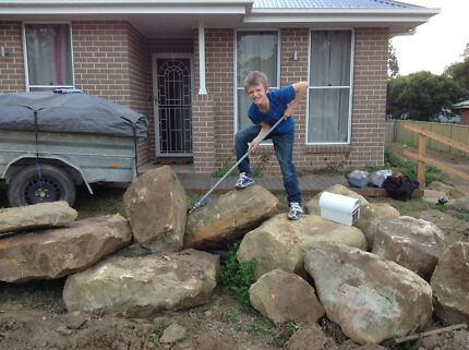 Sandstone Rocks $50 each North Rothbury Cessnock Area Preview