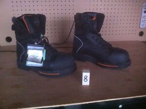 Brand new Workload Steel Toe Boots, size 8 & size 9