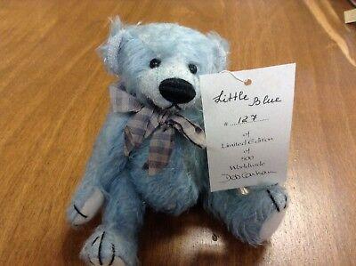 "Deb Canham Bigger Bear ""Little Blue""  Ltd. Ed."