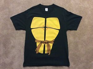 Dark green teenage mutant ninja turtles retro t-shirt