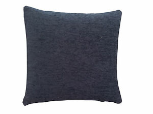 plain-black-chenille-design-scatter-cushion-cover-pillow-case-Sofa-home-bedroom