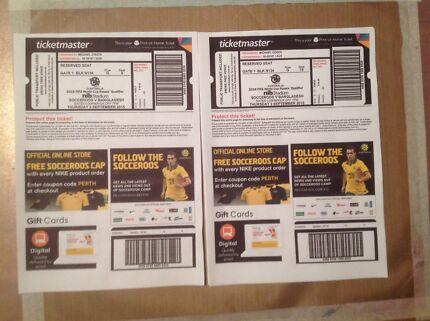 Socceroos Tickets Singleton Rockingham Area Preview