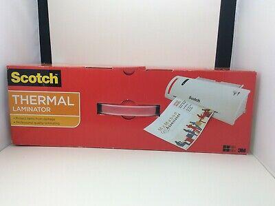 Scotch Thermal Laminator Machine 50 Laminating Pouches 8.5 In X 11 In