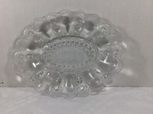 George Abbott Glass Our Daily Bread Serving tray