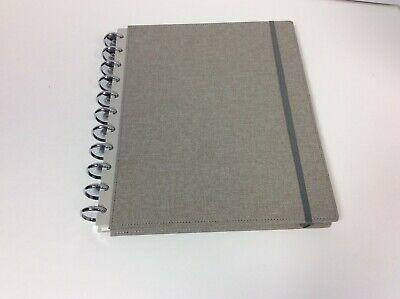 Martha Stewart Discbound Customizable Notebook Letter Size Brown Ms102h