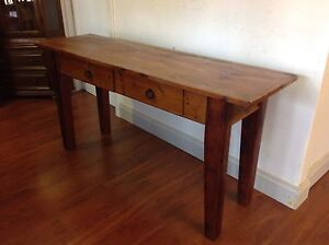 Distressed Look Hall Table Mulgrave Monash Area Preview