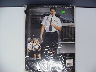 STRIP SEARCH OFFICER KEN I. SEYMOUR MEN HALLOWEEN COSTUME