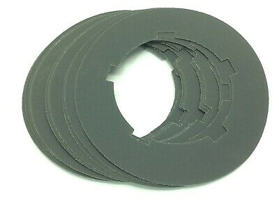 Sanding Disc 240 Grit 8-34 Dia 5-18 Id Lot Of 12