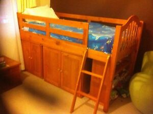 Loft bed - bunk bed timber Boyland Ipswich South Preview