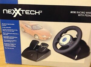 Mini Racing Wheel and Pedals (USB)