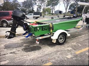 3.8m fibreglass mini bass boat Redbank Plains Ipswich City Preview